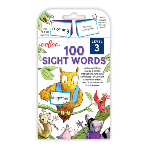 100 Sight Words Cards - Level 3