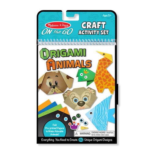 On the Go Crafts - Origami Animals
