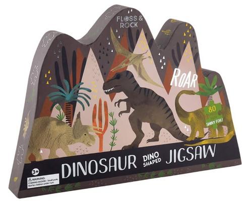 80 Pc Dinosaur Puzzle