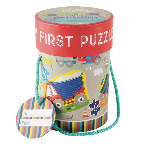 Construction First Puzzles 3, 4, 6 & 8 Pc