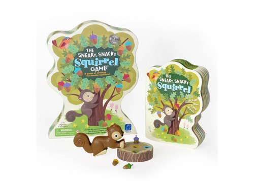 The Sneaky, Snacky Squirrel Game & Board Book