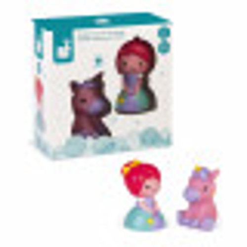 Princess and Unicorn Bath Toy
