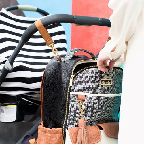 Coffee & Cream Boss Backpack Diaper Bag