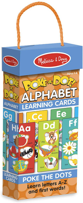 Poke a Dot Jumbo Learning Cards