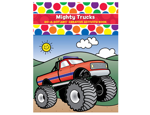 Do A Dot Art Activity Book - Mighty Trucks