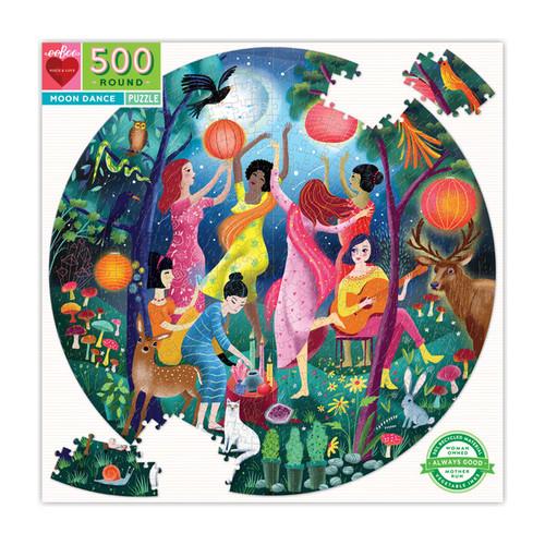 Eeboo Moon Dance 500 Piece Puzzle