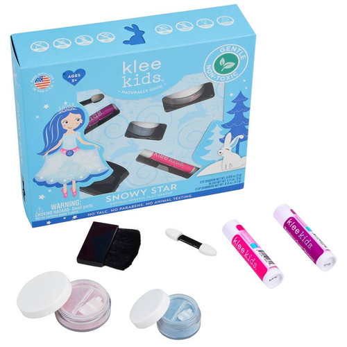 Klee Kids Natural Mineral Play Makeup Kit - Snowy Star