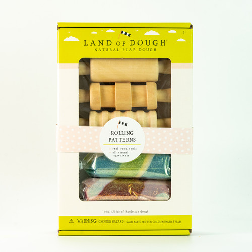 Land of Dough Rolling Patterns Pins