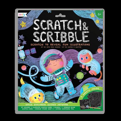 Scratch & Scribble: Space Explorers