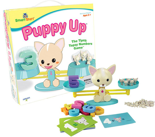 Puppy Up Math Balance Game