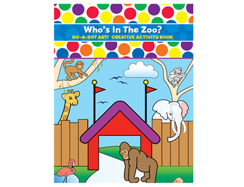 Do A Dot Art Activity Book - Who's In The Zoo?