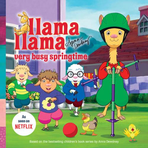 Llama Llama Very Busy Springtime Book