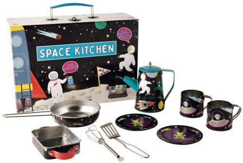 Space Tin Kitchen Set