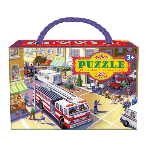 Fire Truck 20pc Puzzle