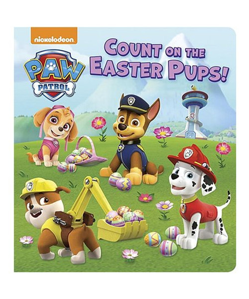 Count On The Easter Pups Book