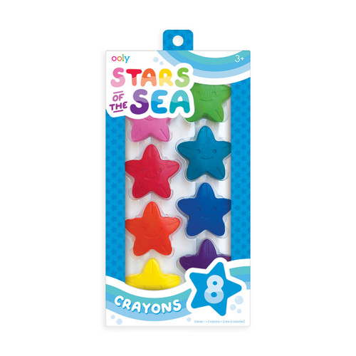 Stars of the Sea 8pk Crayons