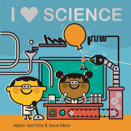 I Love Science Board Book