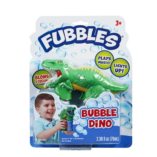 Fubbles Bubble Dino Blower