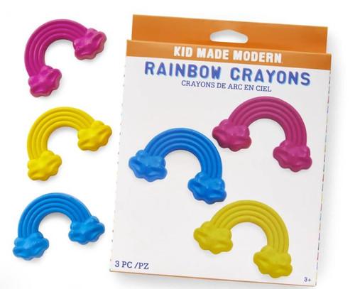 Kid Made Modern - 3pk Rainbow Crayons