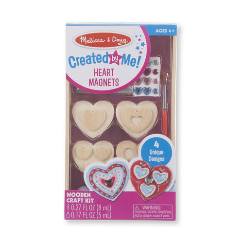 Heart Magnet Craft Kit