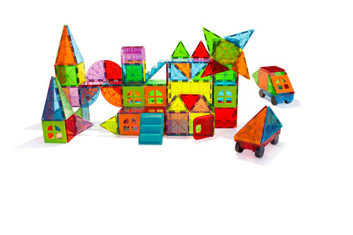 Magna-Tiles 110pc Set- Metropolis