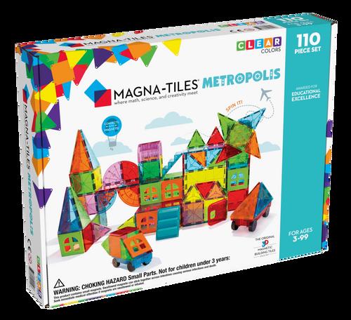 Magna-Tiles 110pc Set- Metropolis
