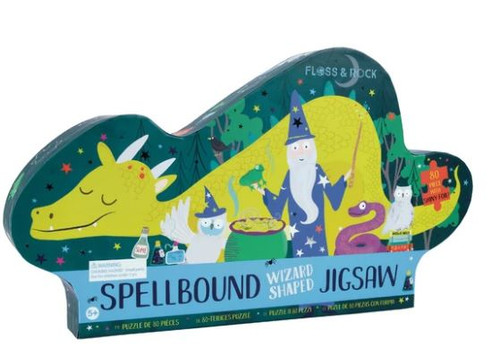 Spellbound Wizard Shaped Puzzle- 80pcs
