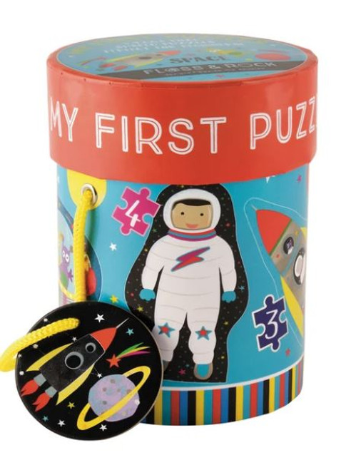 Space First Puzzles - 3,4,6,& 8 pc
