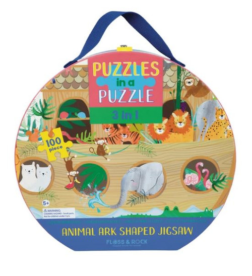 100pc 3 in 1 Puzzle - Animal Ark