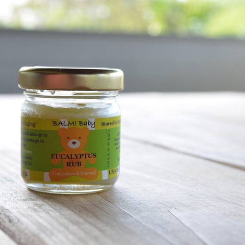 Balm! Baby Clearing Rub for Congestion & Nausea