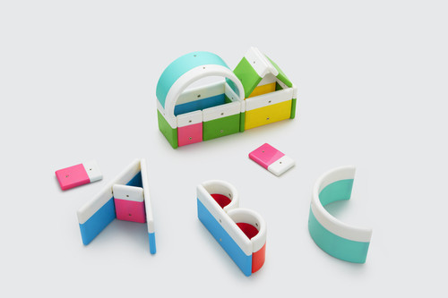 Kid O Alphabuild Letter Building Set