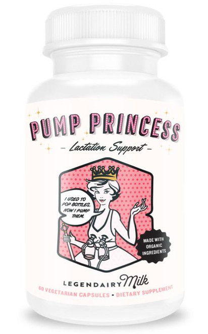 Legendairy Milk Pump Princess Organic Lactation Blend