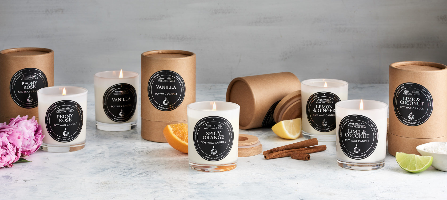 Scented Soy Candles - Soy Candles for Sale   Australian