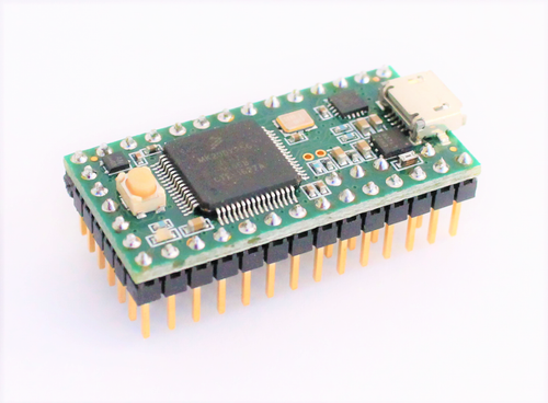 Teensy 3.2 microcontroller with pre-installed openQCM Firmware