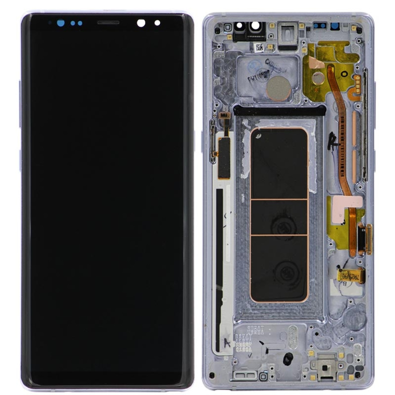 Grade oem Gray With Note Samsung Pull Assembly Lcd Frame A Galaxy 8 For Digitizer Replacement