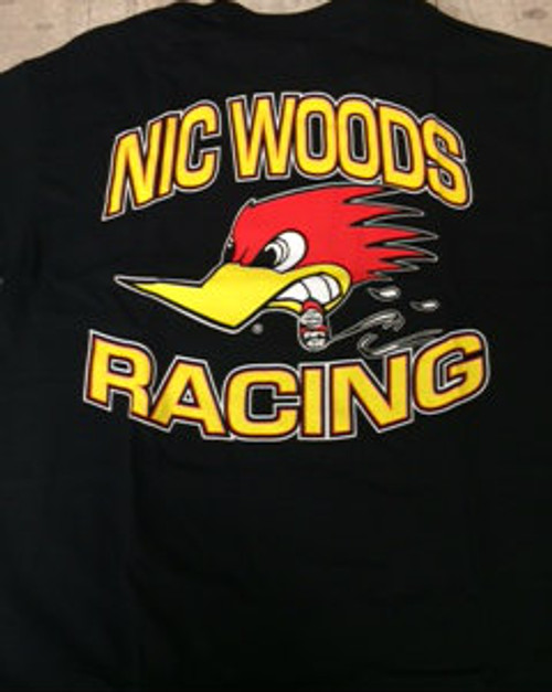 Nic Woods Racing Tee Shirt (BAD ASS MATERAIL