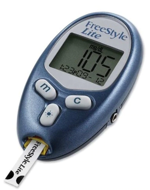 ABBOTT FreeStyle Lite Blood Glucose Meter Only For GLucose Care