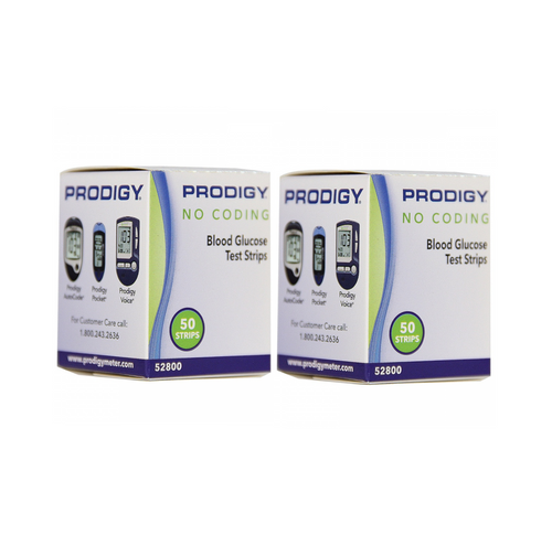 Prodigy Autocode 100 Test Strips For GLucose Care