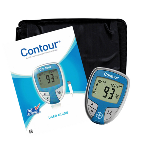 Ascensia Bayer Contour Meter Only For GLucose Care