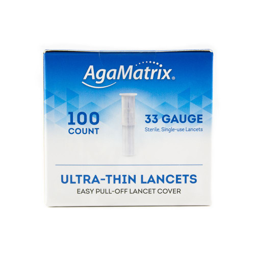 Pull Top Lancets 100s 33 G