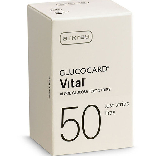Arkray Glucocard Vital 50 Test Strips For GLucose Care