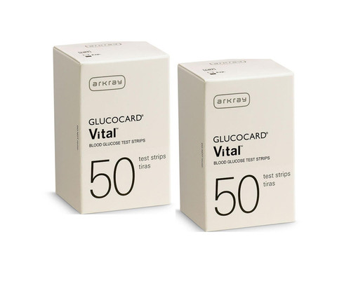 Arkray Glucocard Vital 100 Test Strips For GLucose Care