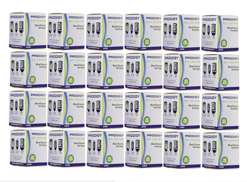 Prodigy Autocode 1200 Test Strips For GLucose Care