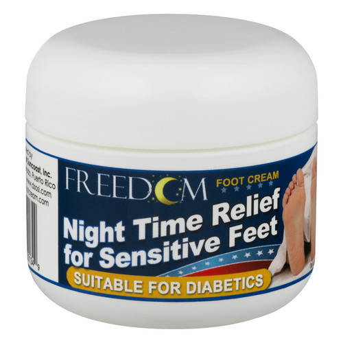 Advocate Freedom Night Time Foot Cream 2oz. JAR For GLucose Care