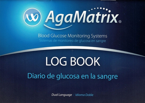 AgaMatrix WaveSense Log Book For GLucose Care