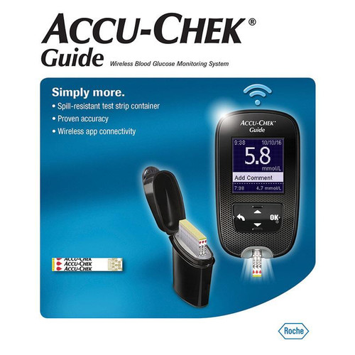Accu Chek Guide Meter Kit For GLucose Care