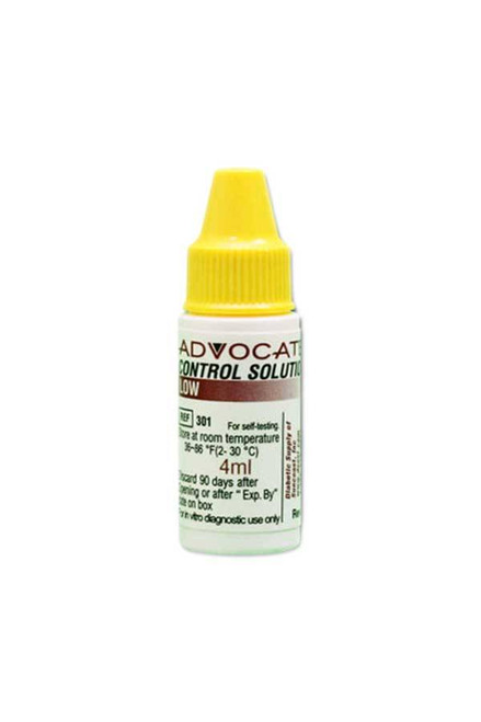 Advocate Control Solution  Low For GLucose Care