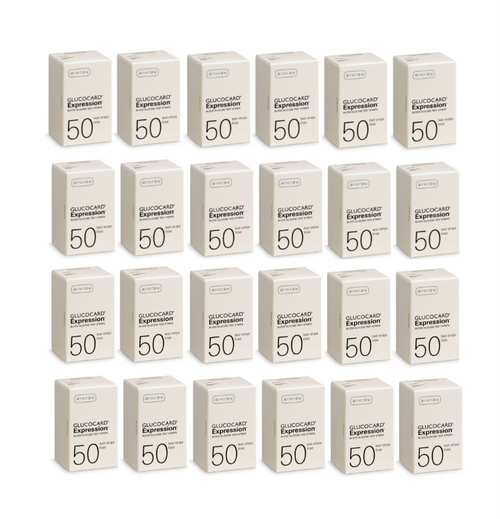 Arkray Glucocard Expression 1200 Test Strips For GLucose Care