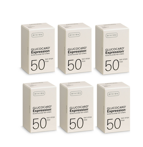 Arkray Glucocard Expression 300 Test Strips For GLucose Care