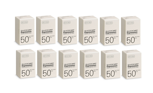 Arkray Glucocard Expression 600 Test Strips For GLucose Care
